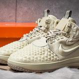ботинки Nike бежевые 40,41,42,43,44,45 размер демисезонные новинка