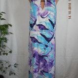 Новое красивое длинное платье savoir