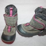Зимние термо сапоги фирмы Ecco 25 размера по стельке 15,5-16 см. вся стелька с загибом 16,8 см. ко