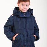 Детская демисезонная куртка для мальчика 66BLUE 98, 104, 110 116, 122 см Синяя Детская демисезонна