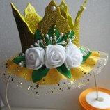 Праздничная корона из фоамирана