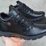 Мужские кожаные зимние ботинки Gest