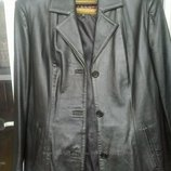Пиджак, куртка натуральная кожа