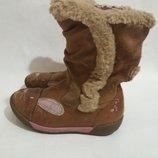Ботинки Clarks кожаные размер 27