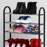 Полка для обуви четырёхъярусная
