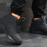 Зимние мужские кроссовки Nike dark blue 6588