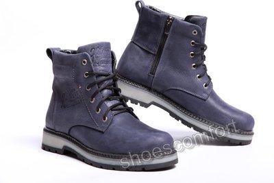 Кожаные зимние ботинки Hilfiger Irving Comfort Blue M -117