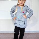 Удлиненный свитер туника для девочки Breeze Турция