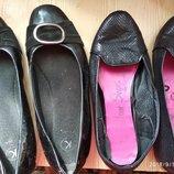 Туфли балетки 41 р на широкую ногу