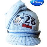 Шапка и варежки деми еврозима на 0-1 год Микки Маус Disney OVS Италия набор