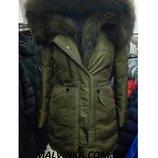 Куртка зимняя с натур.мехом ZILANLIYA р M,L арт