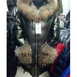 Куртка зимняя с натур.мехом VO-TARUN р L,XL арт 018-116