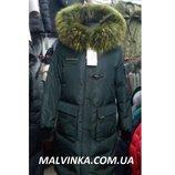 Куртка зимняя с натур.мехом р L,XL арт 018-068 VO-TARUN