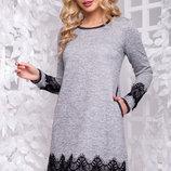 Красивое платье с ангоры 1042