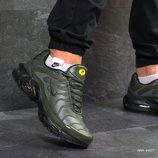 Зимние кроссовки Nike Air Max Tn dark green
