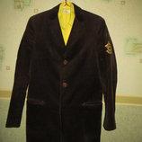 Мужской пиджак из вельвета ZARA.Испания.Тренд сезона