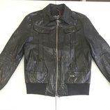 Куртка кожаная ICE iceberg оригинал Италия натур кожа Новая коллекция Будьте стильными