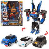 Робот трансформер тобот тритан tritan 3 в 1