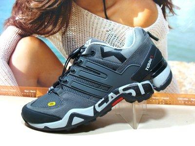 Мужские кроссовки Supo Terrex Fast R серый 41р-45р