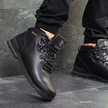 Ботинки мужские зимние темно синие 6632