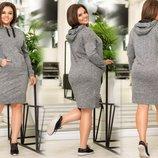 Платье Ткань ангора софт длина изделия 98, длина рукава 60