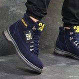 Ботинки зимние Caterpillar dark blue