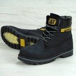 Зимние женские ботинки Caterpillar Colorado Fur Black