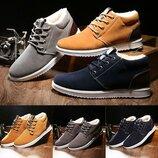 Стильные утепленные мужские кроссовки В Наличии