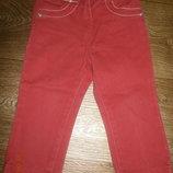 Красные джинсы Джорж на 12-18 мес
