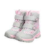 Термоботинки для девочки Tom.m 23, 24, 25, 26, 27, 28, 29, 30 р Серый, розовый C-T39-81-K Термо