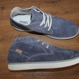 Итальянские качественные кожаные ботинки imac 30 см