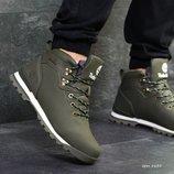 Зимние мужские ботинки Timberland dark green