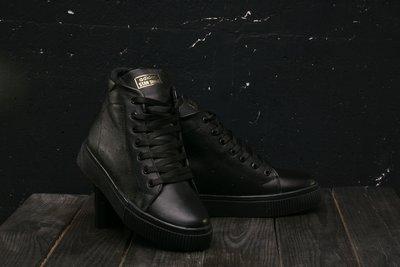 Зимние женские ботинки Adidas Stan Smith black