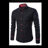 Рубашка код 71 черная