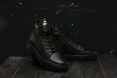 Зимние женские ботинки Puma black