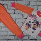 Пижама ЛОЛ интерлок,хлопок, от 4-х до 10 лет