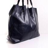 Шикарная ,мягкая, кожаная сумка - Шоппер Lavarazione Artigianale , производства Италии
