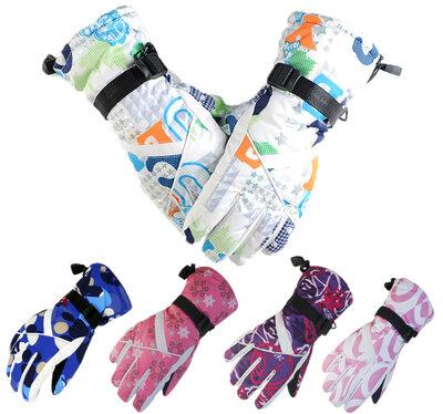 Перчатки горнолыжные женские Moon перчатки лыжные 5 цветов