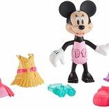 Fisher-Price Минни Маус с одеждой стиль Сафари охота Disney Minnie Safari Stylin Minnie