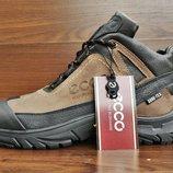 Мужские зимние ботинки кроссовки Ecco Biom . Все натуральное.