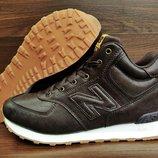 Мужские зимние ботинки кроссовки New Balance 574.