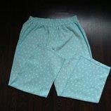 Размер XL Нежные фирменные флисовые пижамные домашние штаны
