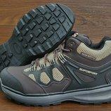 Зимние коричневые мужские кроссовки Supo Sport