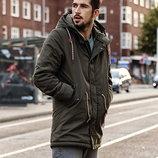 Мужская куртка парка, зима