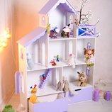 Кукольный домик ,дом для куклы .Домик дворец
