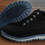 Мужские зимние ботинки Timberland . Натуральная кожа и мех. Доставка