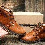 Мужские зимние ботинки кроссовки Clarks . Все натуральное.