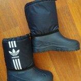 Дутики для мальчика. Идеальная обувь для мокрой погоды