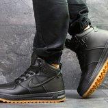Зимние кроссовки Nike Air Force LF-1 black