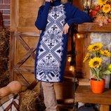 Теплое вязаное платье Ольга